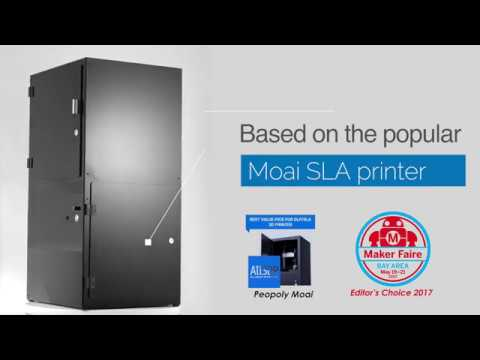Introducing Moai 200 Laser SLA Printer
