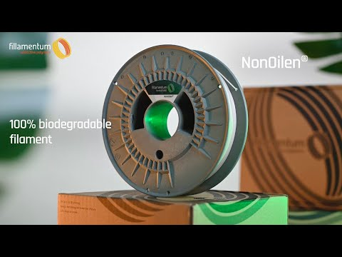 NonOilen® The 100% biodegradable and recyclable 3D printing filament