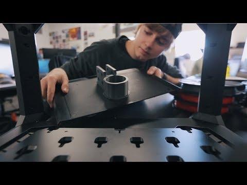 MakerBot Time lapse | Local Motors Olli Suspension