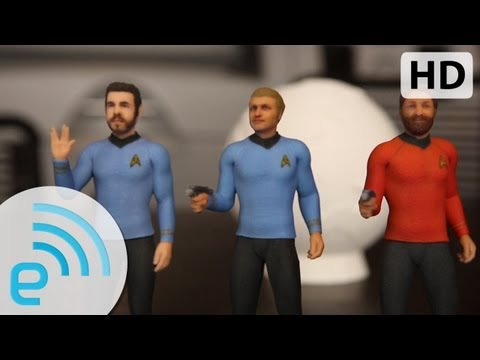 Cubify Star Trek figurines by 3D Systems | Engadget