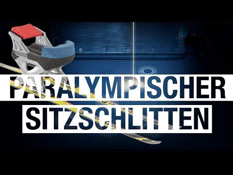 Additiv gefertigter Sitzschlitten für den paralympischen Biathlon