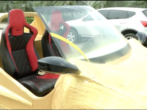 China Unveils First 3D Printed Car in Hainan