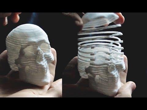 Mortal Coil - 3D Printed Scultpure