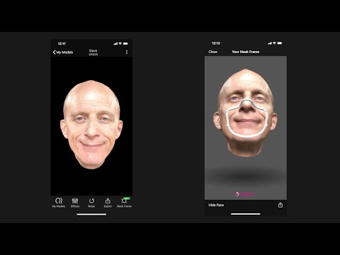How to Use Mask Fitter in Bellus3D FaceApp
