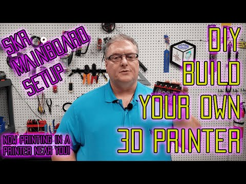 Build Your Own DIY 3D Printer - SKR Mainboard Setup