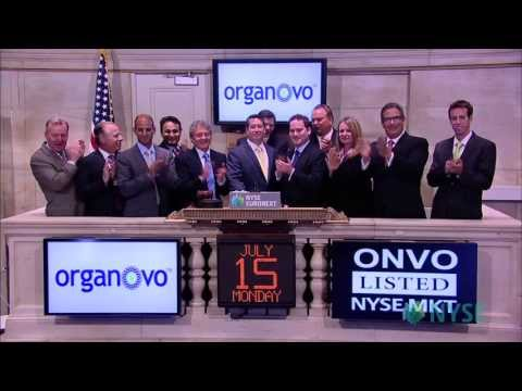 Organovo Celebrates Listing on NYSE MKT