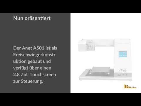 Anet Technology stellt vier neue 3D-Drucker vor