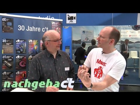 nachgehakt @ CeBIT 2015: 3D-Drucker