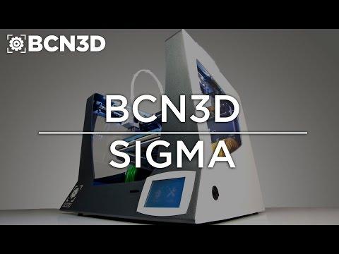 BCN3D Sigma - Independent Dual Extruder 3D Printer