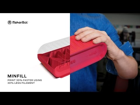 MakerBot   Introducing MinFill