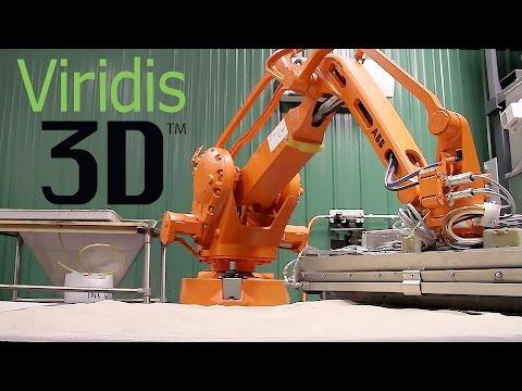 Viridis3D - Robotic Additive Manufacturing
