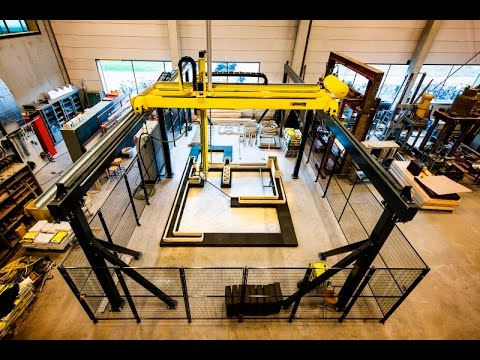3D printing of sustainable concrete structures