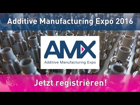 GBN Systems Videonews - Die AMX Additive Manufacturing Expo am 20. und 21.9.16 in der Messe Luzern