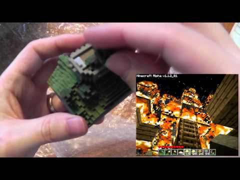 Minecraft 3D Prints with Mineways and Shapeways