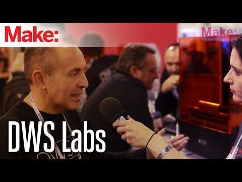 DWS Labs Discusses XFab SLA Printer and Flexible Materials