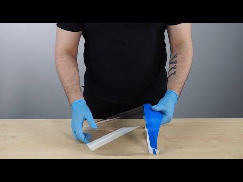 3D printed medical visor assembly - Zortrax