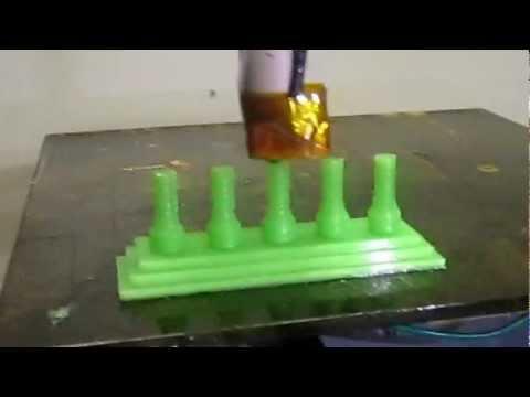 RapidBot1.0 3D printing Part 1