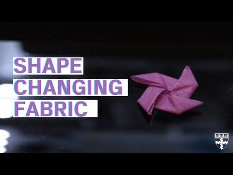 Wool-like material can remember and change shape
