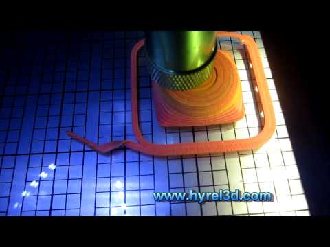 HYREL 3D - 3D Printing with Sugru! The Amazing Self-Setting Rubber!