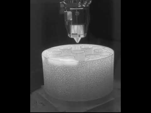 Infrared time-lapse of Transformational Challenge Reactor print