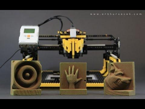 "LEGO 3D Milling Machine - ""3D Printer"""
