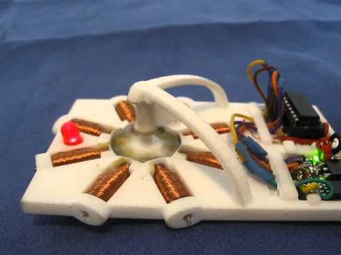 Homemade 3d Printed Stepper Motor