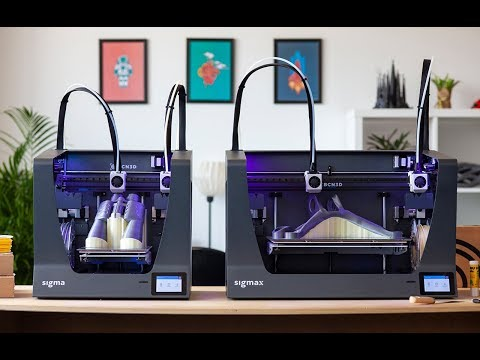 Sigma & Sigmax R19: A new generation of BCN3D Technologies 3D printers
