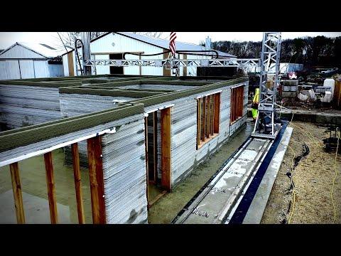 ARCS Building The World's Largest 3D Printed House - Calverton, New York