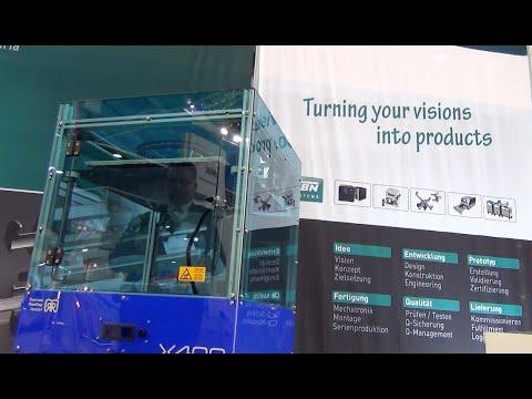 GBN Systems Videonews - Additive Manufacturing im Rahmen der Intec / Zuliefermesse in Leipzig
