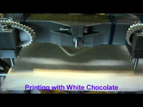 Chocolate 3D printing Universal paste Extruder