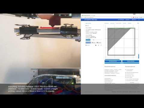 #DICE - schneller erster Layer mit 200mm/s auf filaprint
