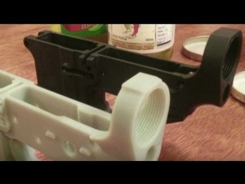 Can 3-D printers make plastic weapons?