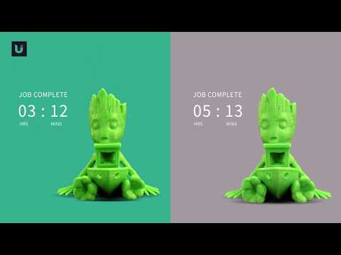 Baby Groot in a Benchy - Ulendo 3D Printing Case Study