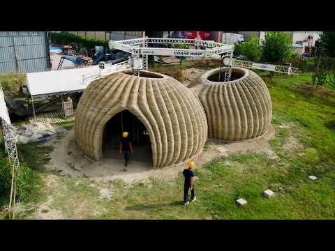 Eco-sustainable 3D printed habitat - Tecla