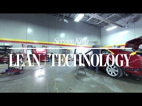 Lean + Technology: Service King