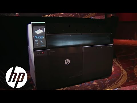 Introducing HP Metal Jet Technology At IMTS 2018   3D Printing   HP