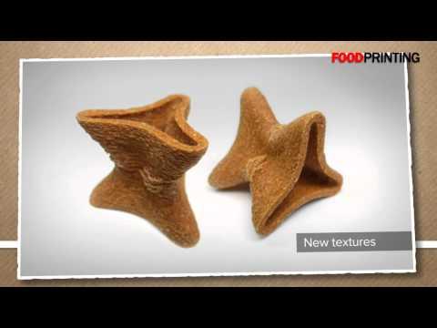 3D Printing: now printing food too