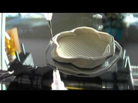 Ceramic Porcelain Clay 3D printing Universal paste Extruder