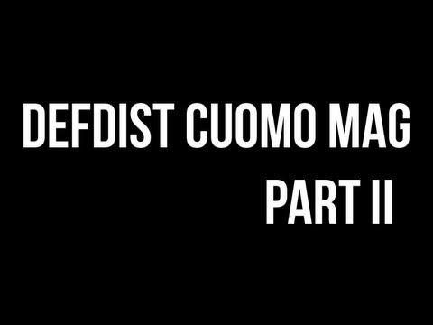 DefDist Printed Cuomo Mag - Part II