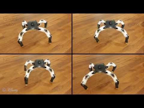 Interactive Design of 3D Printable Robotic Creatures