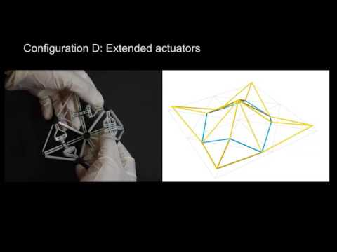 Deployment and simulation of a multistable dome