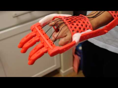 Testing a 3D Printed Prosthetic Hand