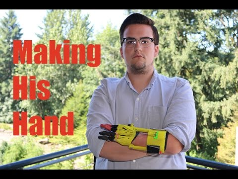 PCC Student Makes His Own Hand
