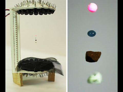 Acoustic Levitator DIY: levitate liquids and insects at home