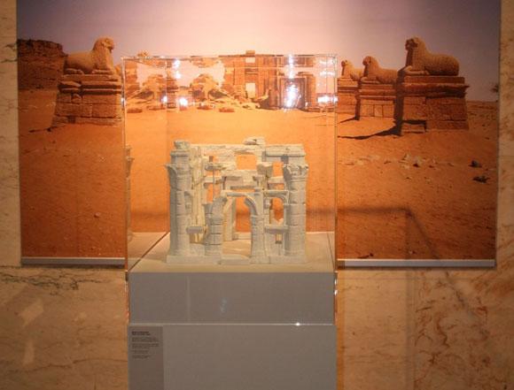 Modell auf der Ausstellung in Berlin