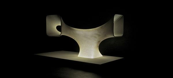 voxeljet pr sentiert designerlampen aus dem 3d drucker. Black Bedroom Furniture Sets. Home Design Ideas