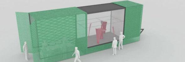 kamermaker raumgro er 3d drucker soll architektur ver ndern. Black Bedroom Furniture Sets. Home Design Ideas