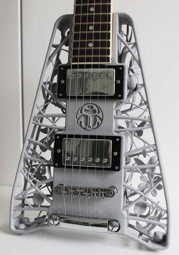Olaf Diegel: Elektrische Gitarren aus dem 3D-Drucker - Update ...
