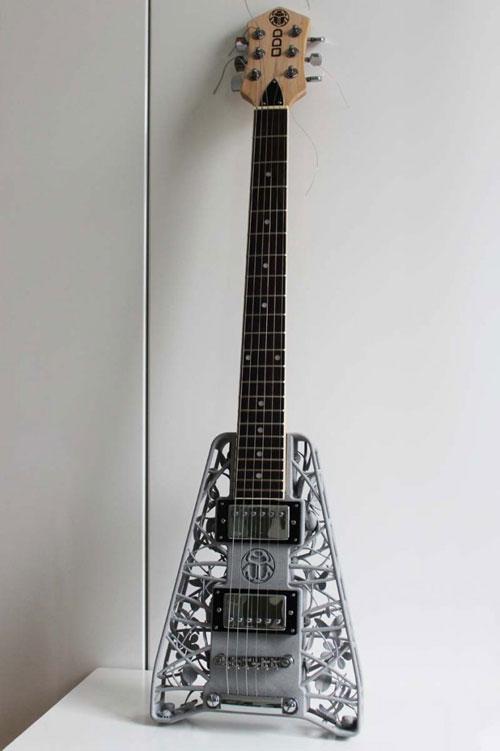 olaf diegel elektrische gitarren aus dem 3d drucker update steampunk guitar. Black Bedroom Furniture Sets. Home Design Ideas
