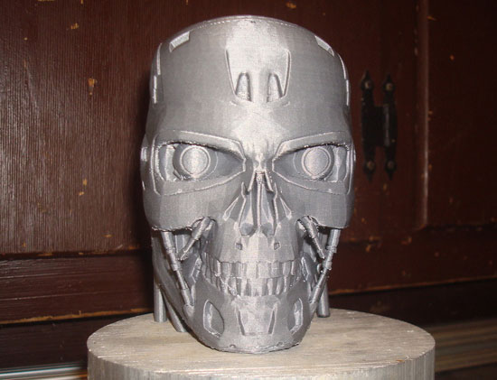 Terminator Kopf